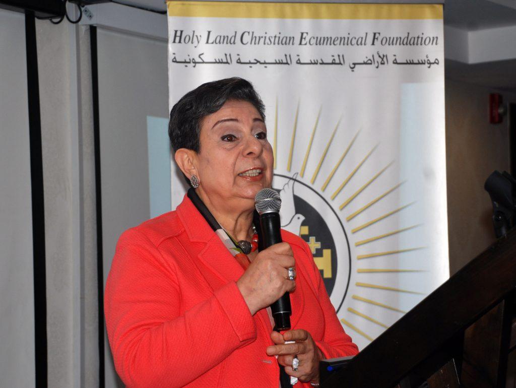 H.E Dr. Hanan Ashrawi